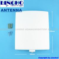 1 2ghz Directional Panel Antenna High Gain 9dB Wireless CCTV Camera Antenna N Female Connector