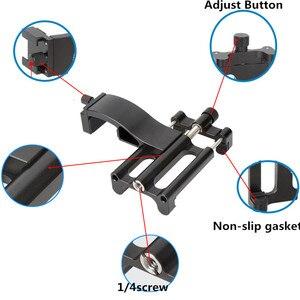 Image 3 - עבור אוסמו כיס צג מיקרופון רב פונקציה קבוע מחזיק טלפון נייד הר סוגר Gimbal מצלמה אביזרי התרחבות