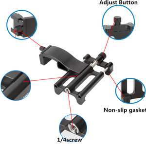 Image 3 - Pour Osmo moniteur de poche Microphone multi fonction support fixe support de montage de téléphone portable cardan accessoires dextension de caméra