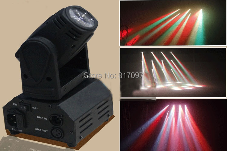 Beam moving head light 12W RGBW quad or 10W white 11/13 DMX channels LED moving heads beam Disco DJ Pub Bar KTV Disco lights
