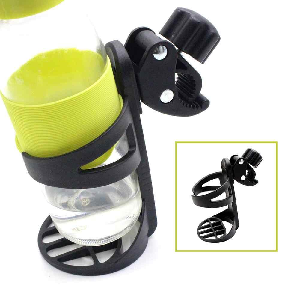 1 unidad de plástico bebida botella de leche soporte taza soporte para cochecito bicicleta triciclo soporte de almacenamiento nuevo