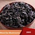 200g Natural Organic Fungo Cogumelos Orelha de Madeira Chinês Cuidados de Saúde Suplementos