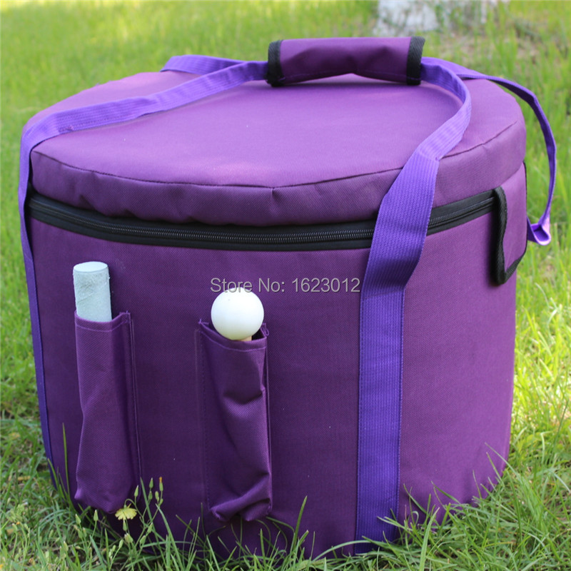 Bolso de transporte de color púrpura para tazones de cristal de 11 - Instrumentos musicales - foto 3