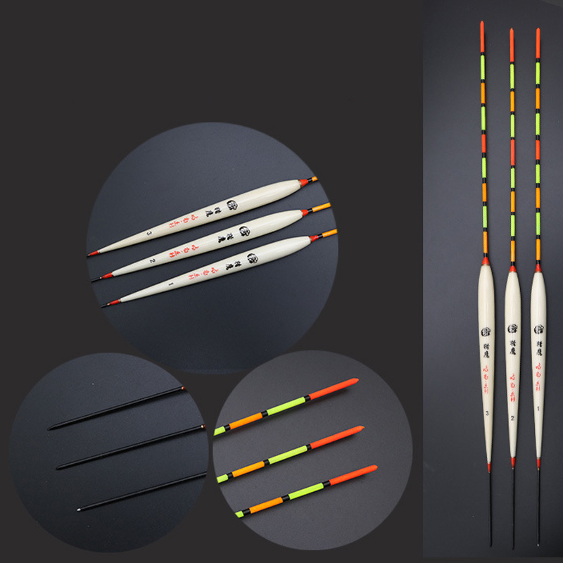 Fishing Float Set Carp Fishing Bobber Balsa Wood Material Hollow tail Floating Buoy Flotteur De Pech Fishing Tackles in Fishing Float from Sports Entertainment