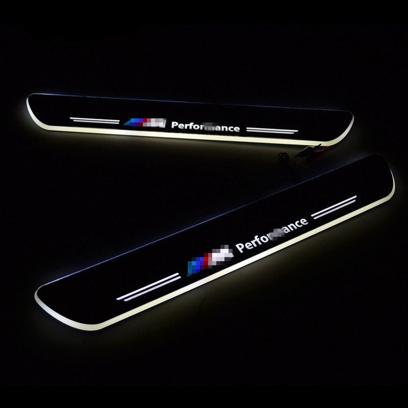 Led door sill for BMW E89 Z4 2009-2013 Moving Led door scuff plate pedal