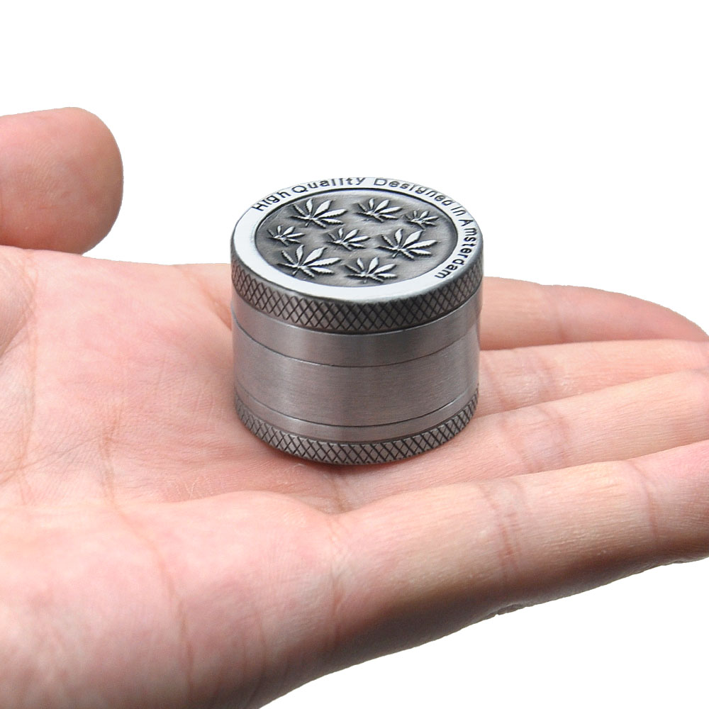 Image 3 - AMSTERDAM Herb Grinder Zinc Alloy 30 MM 3 Layers  Herb Grinder Spice Herbal Crusher Hand Muller Tobacco Grinder-in Tobacco Pipes & Accessories from Home & Garden