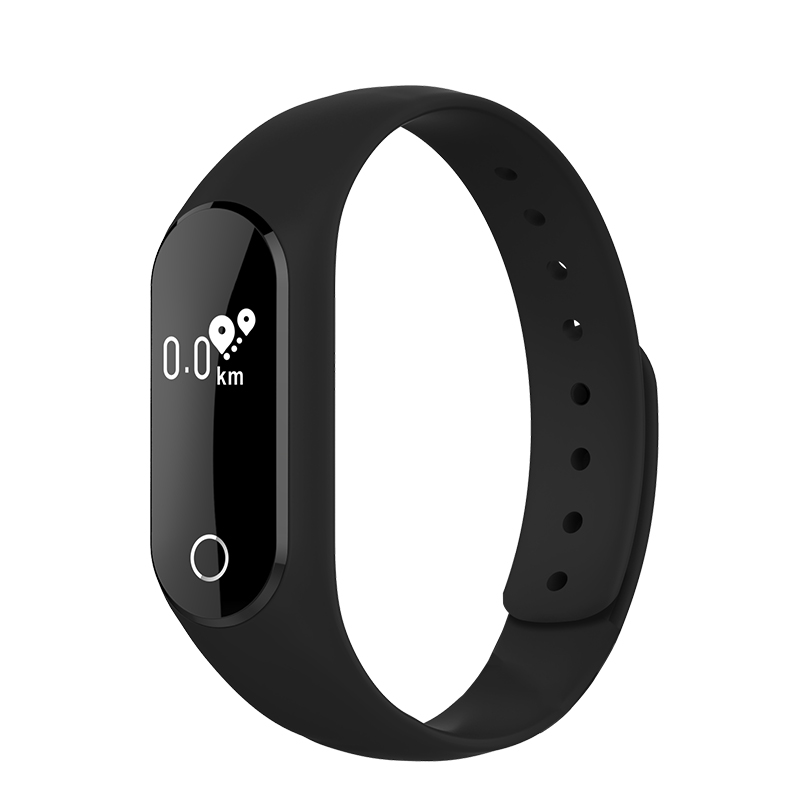 Pedometer Calories Smart Bracelet Heart Rate Monitor Smartband Bluetooth Fitness Smart Wristband For Android IOS Phone