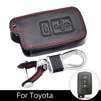 Bao da Chìa Khóa Ô Tô Dành Cho Xe Toyota Camry 2012 2.5 V 2.5g 2.5 S 3 Nút Bấm Thông Minh Điều Khiển Từ Xa Fob Bao móc khóa Bảo Vệ Túi Tự Động Phụ Kiện