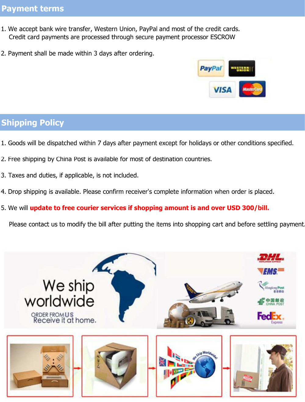 tissue paper template- payment-shipping-guarantee- feedback-1