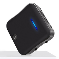 Digital Optical Toslink Wireless Speaker 5.0 Universal Adapter Car Audio Receiver Bluetooth Transmitter Portable CSR8675 Black