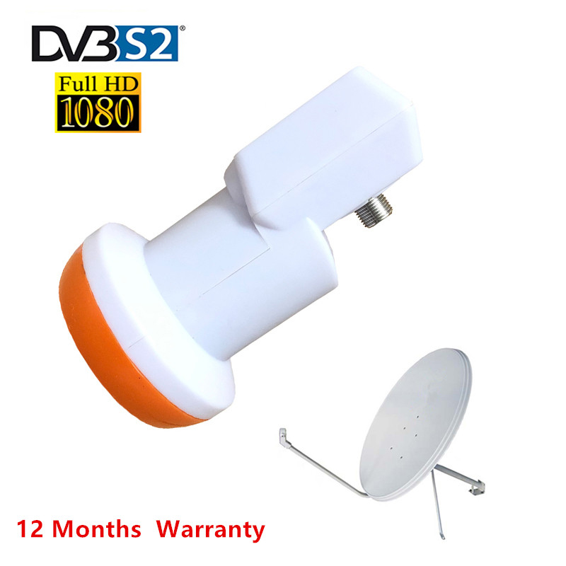 HDTV SAT SR-320 Best Signal Universal KU Band Single LNB Waterproof High Gain Low Noise 0.1 DB For HD Satellite Tv Dish Antenna