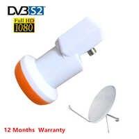HDTV SAT SR-320 Best Signal Universal KU Band Single LNB Waterproof High Gain Low Noise 0.1 dB for HD satellite tv Dish antenna