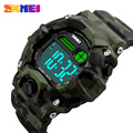 SKMEI S Shock Men Sport Watch Talking Music Alarm Clock LED Digital Watches Outdoor Men Military Shockproof Waterproof Watch