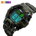 SKMEI S Shock Men Sport Watch Talking Music Alarm Clock LED Digital Watches Outdoor Men Military Shockproof Waterproof Watch