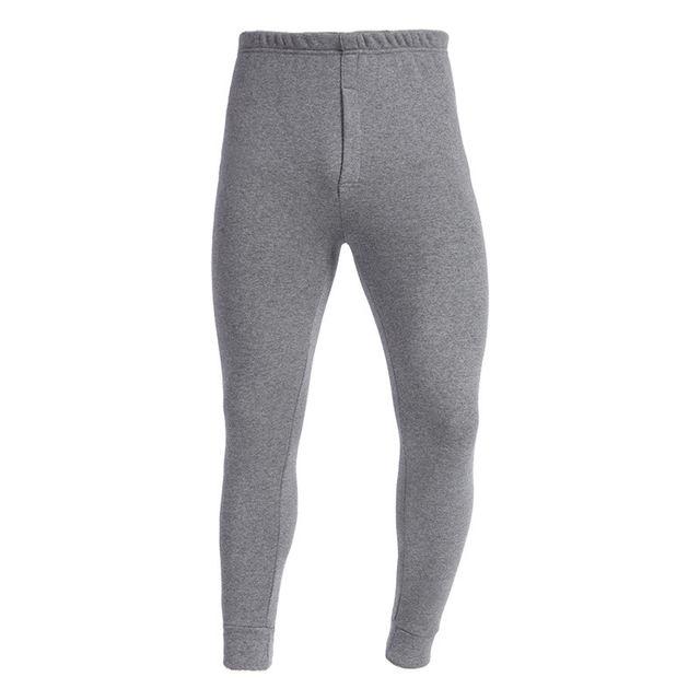 Men Long Johns Soft Thick Thermal Pants Slim Elastic Trousers Men Winter Warm Pants Solid Leggings Underwear Sleepwear 2018 3XL