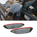 2016 Car Styling Carbon Rearview Mirror Rain Blades Car Back Mirror Eyebrow Rain Cover Protector For HONDA HRV VEZEL 2015-2016