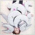 Fashion PP Cotton Light Moon Baby Pillow Night Bulb Cartoon Design Pillow Boys/Girls Best Gift Soft Back Cushion 32*40cm/12*15in