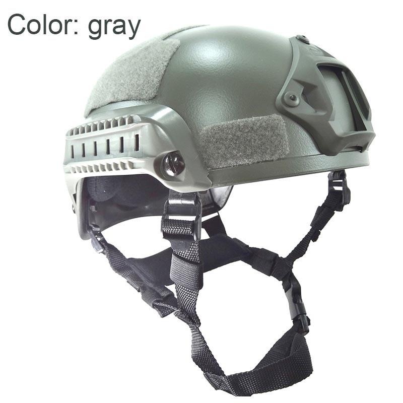 Military Mich 2001 Airsoft Helmet тактикалық - Спорттық киім мен керек-жарақтар - фото 3