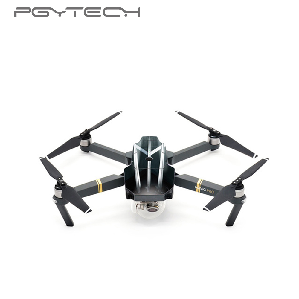 PGYTECH New DJI Mavic Pro & Mavic Pro Platinum Accessories Stickers Skin 3M Waterproof Decals Drone Spare Parts For Mavic Pro