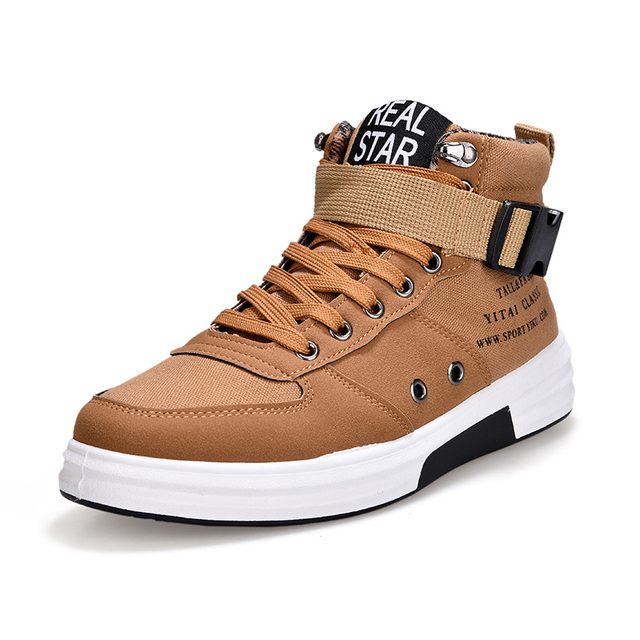 ZYYZYM Uomo Casual Shoes Spring Autumn High High High Style Thick bottom Fashion Outdoors ffdfe8