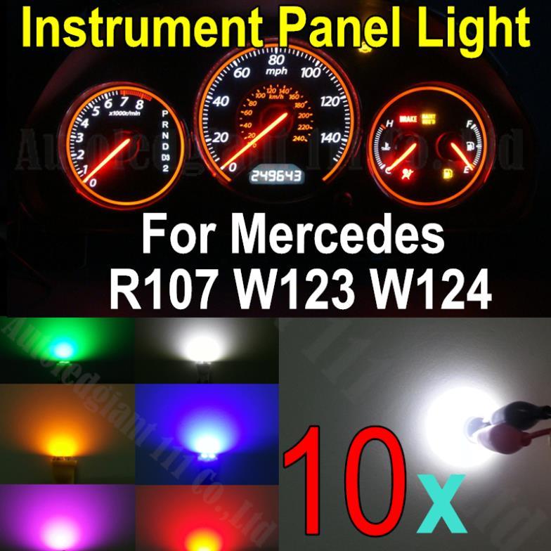 10x Wedge Base Led Illumination Instrument Panel Light