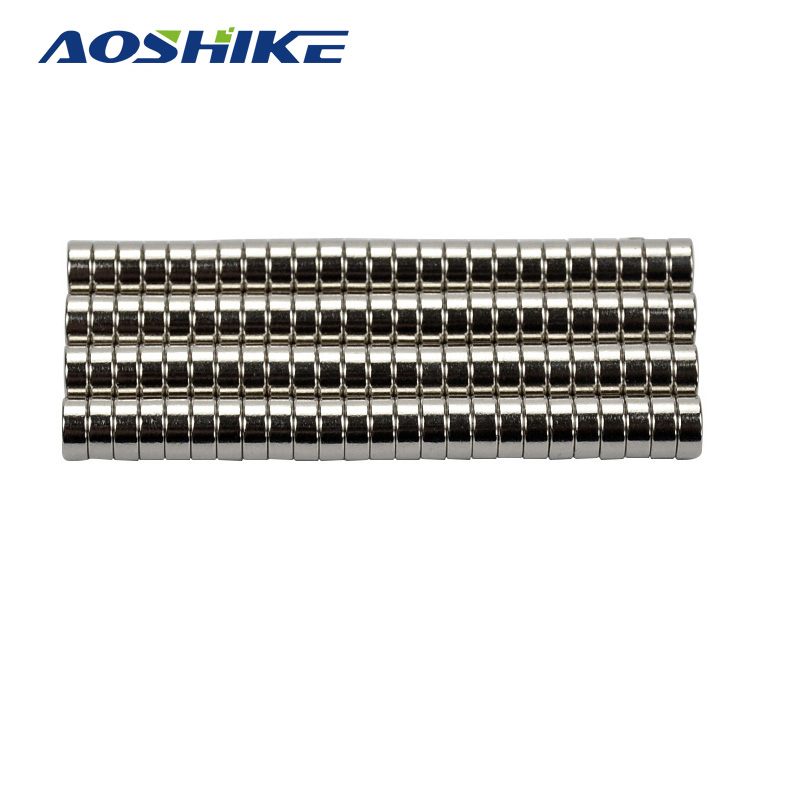 AOSHIKE 100pcs 5*2mm Disc Mini Strong Rare Earth Neodymium Magnet 5mm*2mm NdFeB Magnetic Tape Crafts Magnetite Super Magnets 5x2 earth 2 society vol 4 life after death