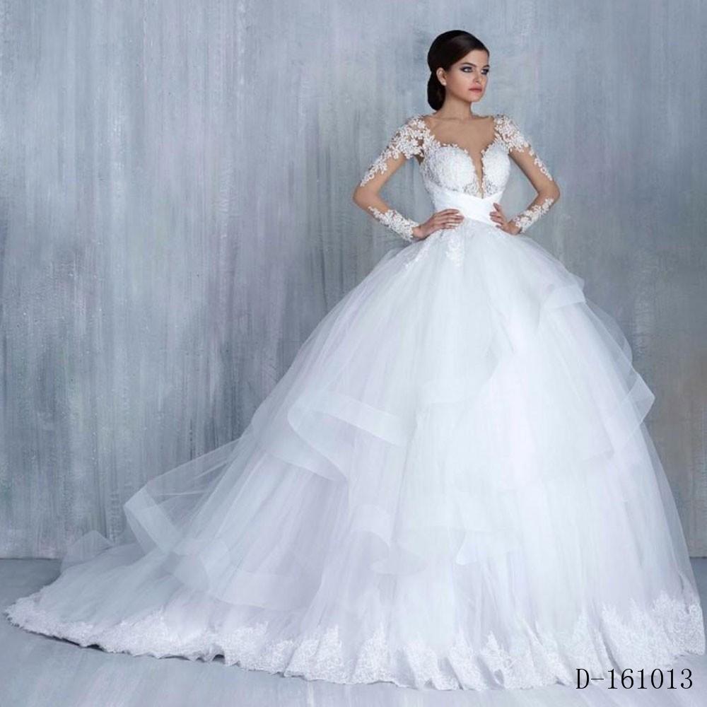 Arab Hijab Saudi Arabia Modest Muslim Wedding Dresses 20 Long ...