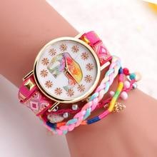 2017 Ladies Girl Brand Bracelet Wrist Watch Female Clock Fashion Quartz Watch Women Watches Montre Femme Relogio Feminino