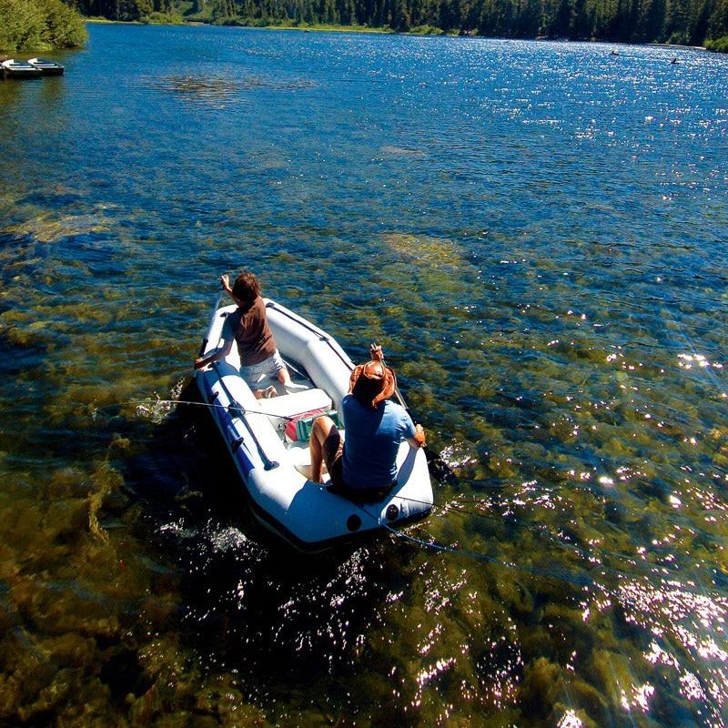 234*120*35 cm CHEYENNE III bateau de pêche bateau de pêche en pvc épais kayak pagaie pompe à rames sac de transport accessoire support moteur en option