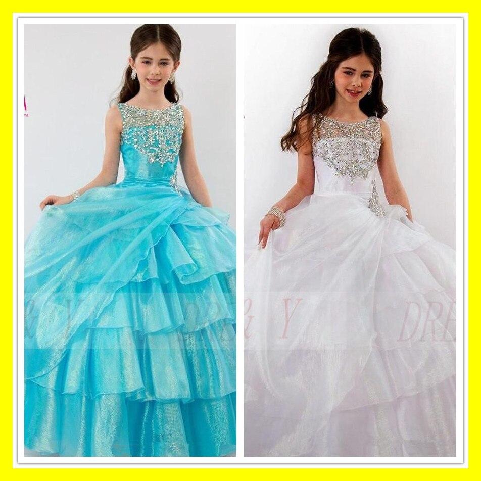 Teen Flower Girl Dresses Little Girls White Discount Dress Ballerina ...