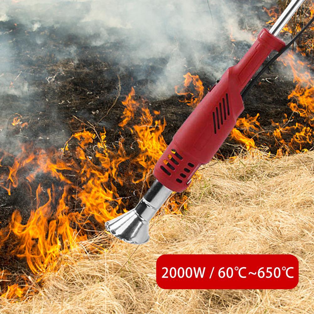 Ferramenta Weeder Capina Stick-Até 650 Graus Térmica Para O Jardim, pátio, Garagem