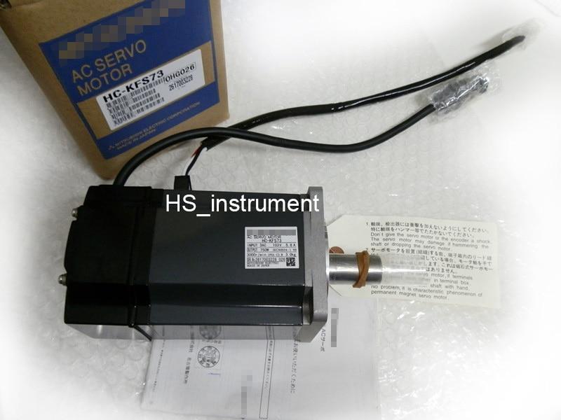 NEW&ORIGINAL HC-KFS73 AC SERVO MOTOR HC KFS73 NEW IN BOX new original motor hc mfs053 ac servo motor 0 16nm 3000rpm 200v 0 85a 50w