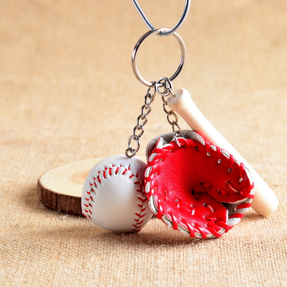 10 pcs/lot Baseball Key Chain Wedding Baby Shower Birthday Party ...