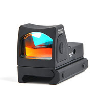 RMR Style Glock Red Dot Sight Collimator Scope Reflex Sight Scope fit 20mm Weaver Rail For Airsoft Hunting Rifle Scope