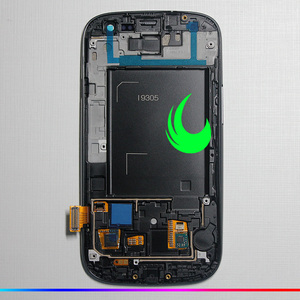 Image 4 - Original Amoled For Samsung Galaxy S3 i9300 i9305 i9300i/i9308i T999/i747 LCD Display Touch Screen Digitizer With Bezel Frame
