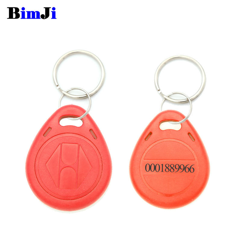 Image 4 - 100pcs Rfid Tag 125Khz TK4100 EM4100 Proximity RFID Card Keyfobs Access Control Smart Card 10 Colors Free Shipping-in IC/ID Card from Security & Protection