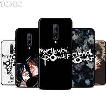 My Chemical Romance Silicone Case for Oneplus 7 7Pro 5T 6 6T Black Soft Case for Oneplus 7 7 Pro TPU Phone Cover