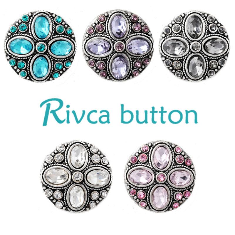 7df451545d02 D02832-5 estilos cristalinos más nuevos 20mm metal botón Snap pulsera y  Brazaletes encanto rhinestone Styles botón rivca encaje la joyería
