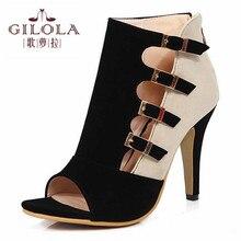 Новые поступления женская мода вырезами высокие каблуки sexy party женщины насосы весна лето женская обувь женщина лучший # Y3271521F