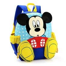 Primäre Kinder Cartoon mickey Schultaschen 2016 Kinder Cartoon Rucksack Wasserdichte Schulranzen Schultasche für jungen und mädchen