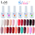 24pcs 15ml oz Free Shipping Nail Gel Polish Soak Off UV Gel brilliant gel French varnish primer gel color nails