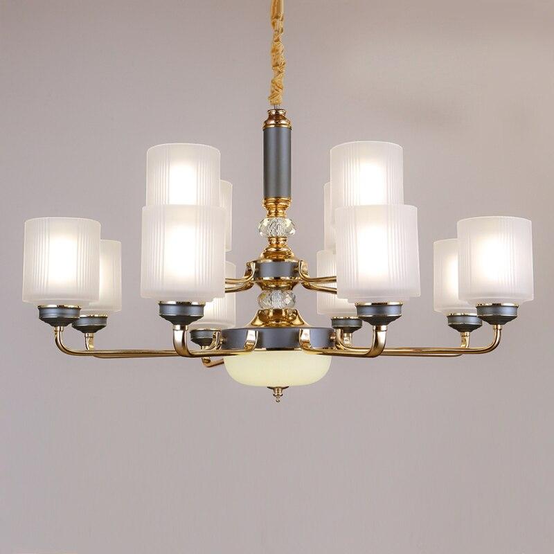 Modern Led Living Room Crystal Chandelier Lighting Loft Hanging Lights Dining Suspension Fixtures Bedroom Suspended Lamp