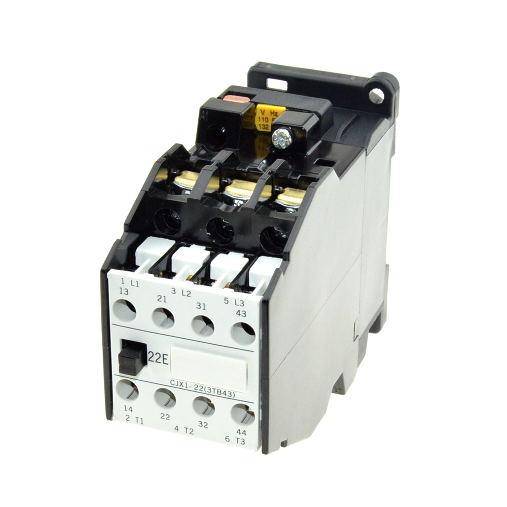 цена на AC Motor Magnetic Starter Contactors 22A 3P 2NO 2NC 24V 110V 220V 380V Coil Voltage 50Hz AC Contactor Relay 35mm Din Rail Mount