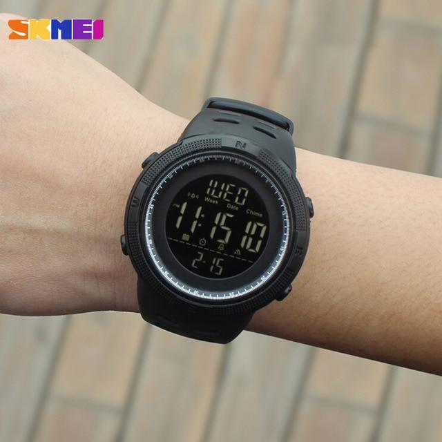 Fashion Outdoor Sport Multifunction 5Bar Waterproof Digital Watch 3