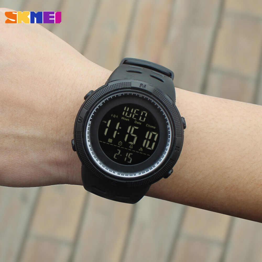 SKMEI Fashion Outdoor Sport Uhr Männer Multifunktions Uhren Wecker Chrono 5Bar Wasserdichte Digital Uhr reloj hombre 1251