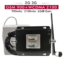 2G 3G Dual Band Signal Booster GSM 900+UMTS/WCDMA 2100 Cell Phone Repeater Network Cellular Amplifier