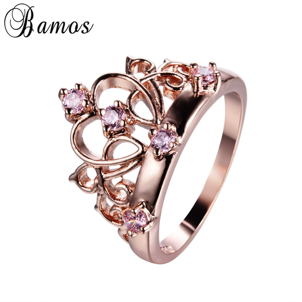 Popular Promise Rings Crown Gold-Buy Cheap Promise Rings Crown ...