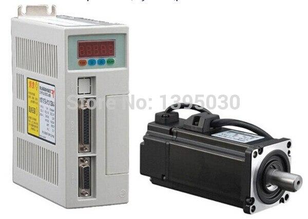 1set AC Servo Motor And Driver 4N M 1 0KW 2500RPM AC Servo Motor 80ST M04025