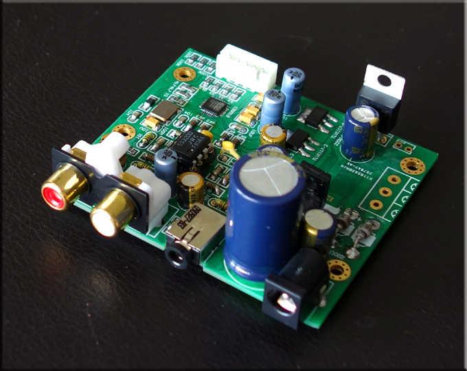 ES9018K2M ES9018 I2S Giriş Çözme Kurulu Değirmen Plaka DAC