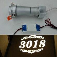 Дешевый логотип проектор 10 Вт светодиодный потолочный гобо проекционный проектор освещение логотипа реклама на заказ рекламный проектор